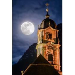 St. Martin in Mittenwald - Vollmond