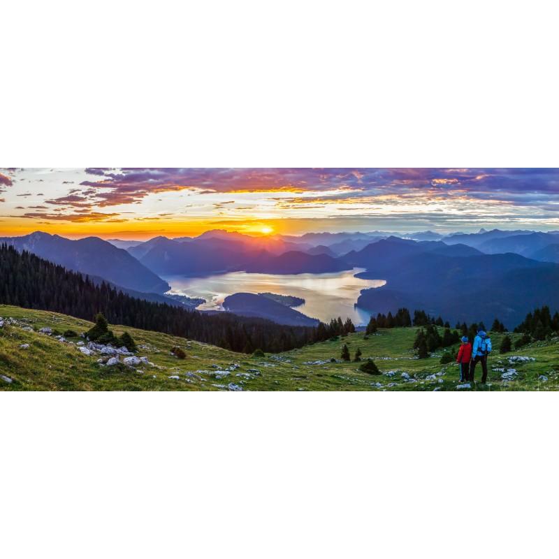 Sonnenaufgang am Walchensee - Farbspektakel