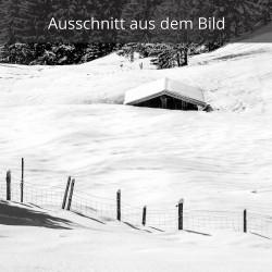 Verschneiter Stadel
