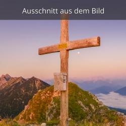 Hoher Grasberg Gipfelkreuz