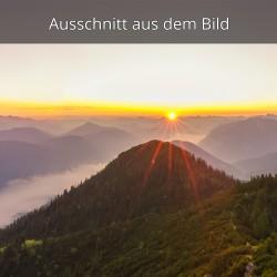 Sonnenaufgang Isartal-Vorderriß