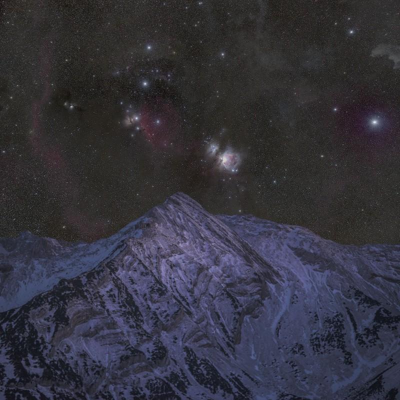 Krapfenkarspitze Deep Sky
