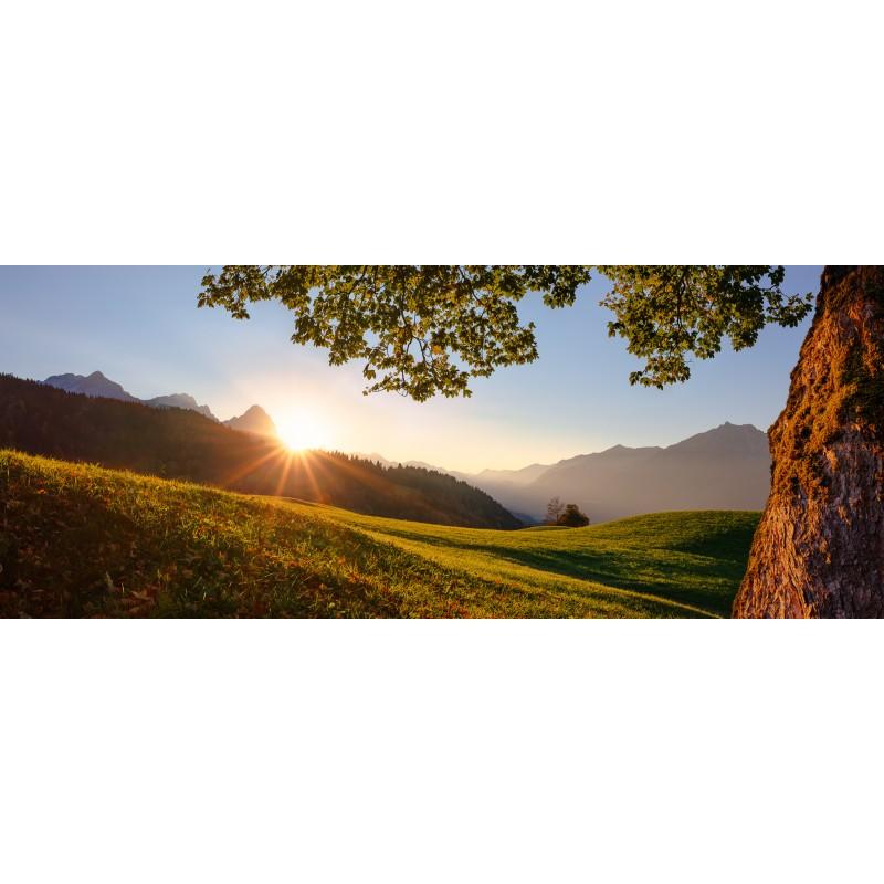Wamberg Sonnenuntergang