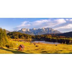 Panorama - Herbst am Geroldsee