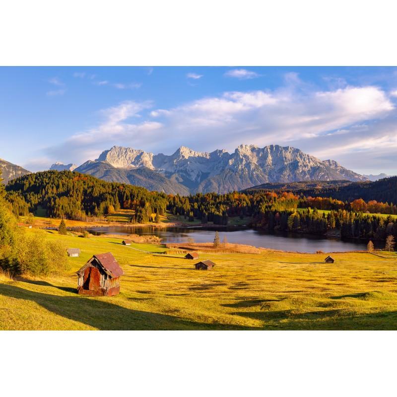 "Herbst am Geroldsee - ""Goldene Stunde"""