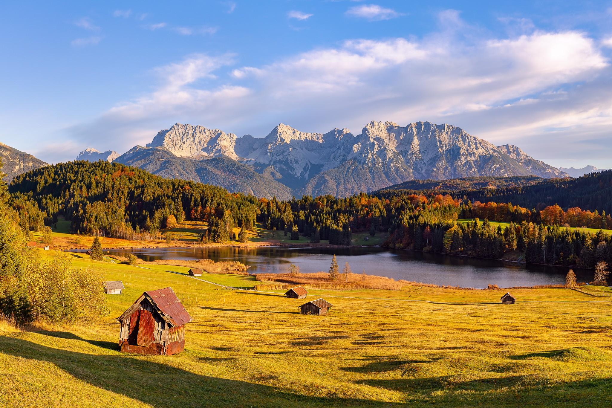 Herbst am Geroldsee -