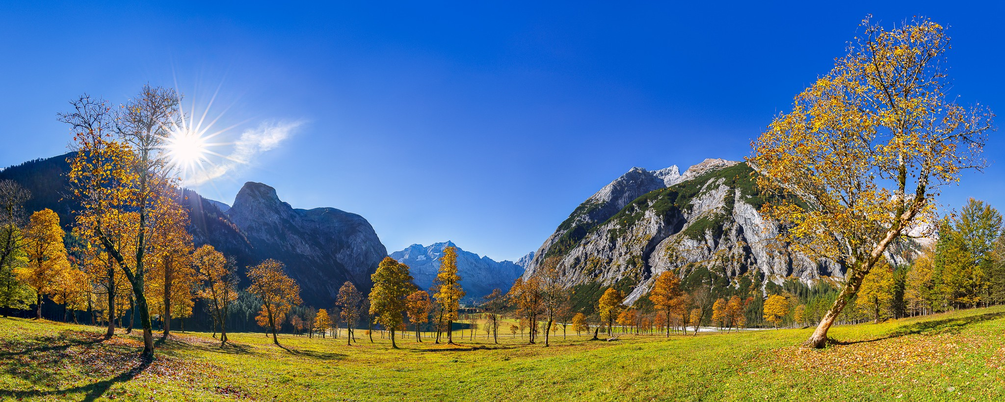 Großer Ahornboden - Herbst